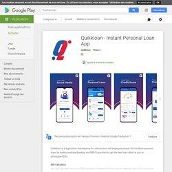 Quikkloan - Instant Personal Loan App