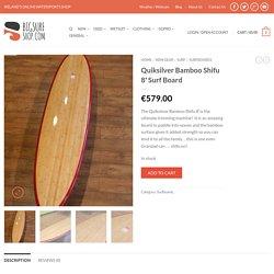Quiksilver Bamboo Shifu 8' Surf Board - BigSurfShop