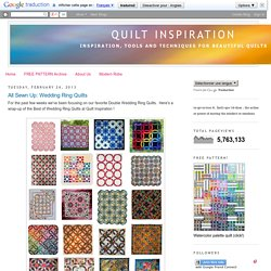 Quilt Inspiration: February 2013