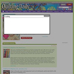 Quilting Arts Challenges - Quilting Arts