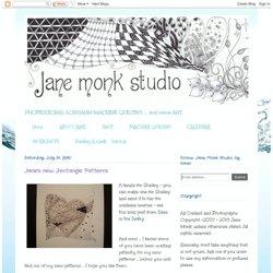 Jane's new Zentangle Patterns