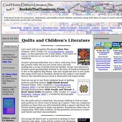 Quilts and Children's Literature