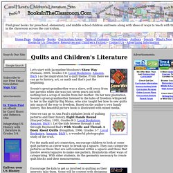 Quilts and Children's Literature