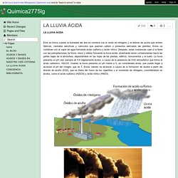 Quimica2775lg - LA LLUVIA ÁCIDA