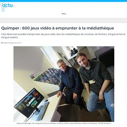 Quimper : 600 jeux vidéo à emprunter à la médiathèque