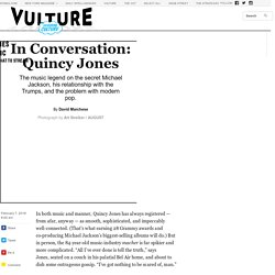 Quincy Jones, In Conversation