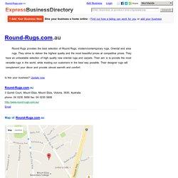 Round-Rugs.com.au, 3 Quindi Court, Mount Eliza, Mount Eliza, Victoria, 3930, Australia