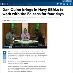 Dan Quinn brings in Navy SEALs to work with the Falcons for four days