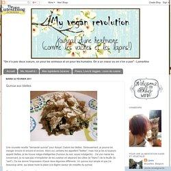 My Vegan Revolution: Quinoa aux blettes