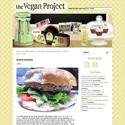 Quinoa Burgers | The Vegan Project