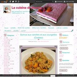 Quinoa aux carottes et aux courgettes (Cookeo)