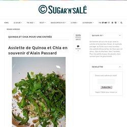 Quinoa et Chia pour une entrée
