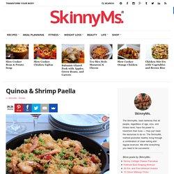 Quinoa & Shrimp Paella
