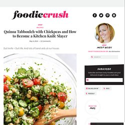 Quinoa Tabbouleh with Chickpeas Recipe