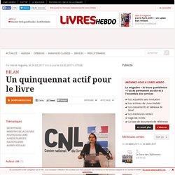 Livres Hebdo 24 mars 2017 Un quinquennat actif pour le livre