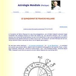 LE QUINQUENNAT DE FRANCOIS HOLLANDE