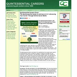 The Quintessential Guide to Job Search 2.0