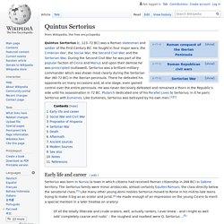 Quintus Sertorius