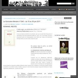 La Quinzaine littéraire n°1040 – du 15 au 30 juin 2011