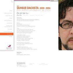 Quique Dacosta - Quique Dacosta