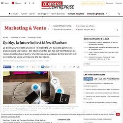 Quirky, la future boîte à idées d'Auchan