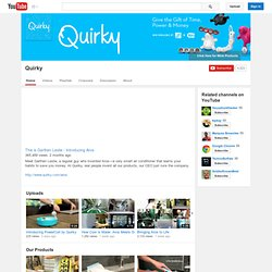 ‪quirkydotcom's Channel‬‏