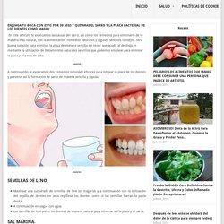 Enjuaga tu boca con esto por 30 segs y quitaras el sarro y la placa bacterial de los dientes como magia! - tipsdevida.net