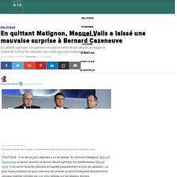 En quittant Matignon, Manuel Valls a laissé une mauvaise surprise à Bernard Cazeneuve