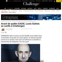 """Gallois (EADS) : """"On peut quand même vivre avec 600.000 euros !"""""""