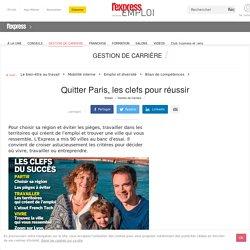 Quitter Paris, changer de région