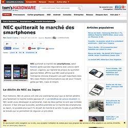 NEC quitterait le marché des smartphones