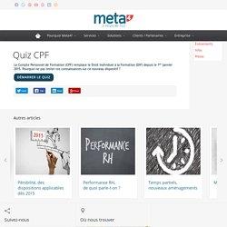 Quiz CFP - Meta4