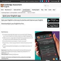 Quiz your English