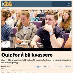 Quiz for å bli kvassere