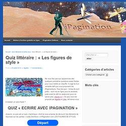 """Quiz littéraire : """"Les figures de style"""""""