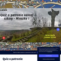 Quiz o patronie by j.nicka on Genially