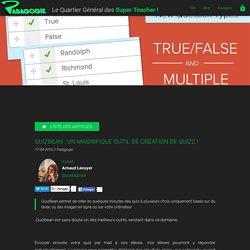 Quizbean : un magnifique outil de création de quizz ! - Padagogie
