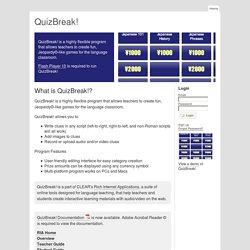 QuizBreak!