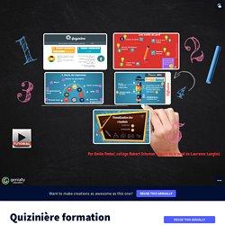 Quizinière formation by Emy F on Genially