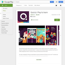 Quizizz: Play to learn - Apps on Google Play