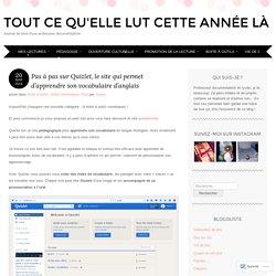 Pas à pas sur Quizlet, le site qui permet d'apprendre son vocabulaire d'anglais