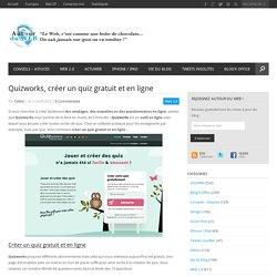 Quizworks, créer un quiz gratuit et en ligne