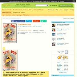 Quizz 10 affiches cultes - Quiz Art