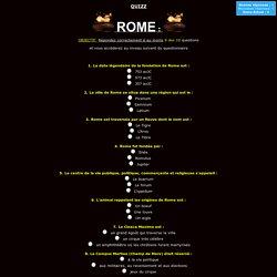 QUIZZ Rome