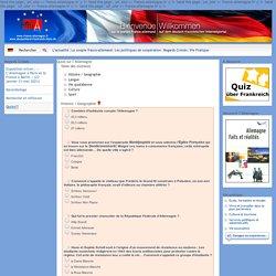 Quizz sur l'Allemagne - France-Allemagne.fr