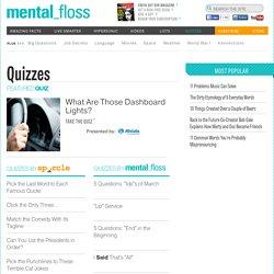 Fun Quizzes Online - Mental Floss