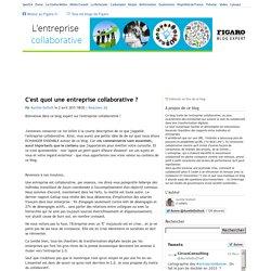 C'est quoi une entreprise collaborative ? — L'entreprise collaborative