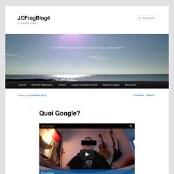 Quoi Google?