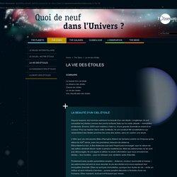 The Stars, La vie des etoiles