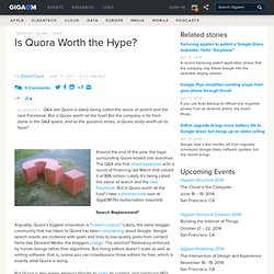 Is Quora Worth the Hype?: Tech News and Analysis «